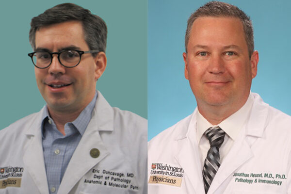 Duncavage and Heusel to Lead Two New Department Sections